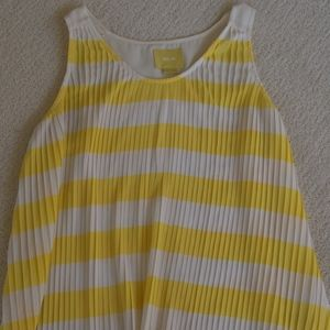 Maeve Striped Yellow Blouse